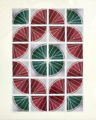 25 Freewheelin' TWENTY FIVE (red/green 4x6 sq)