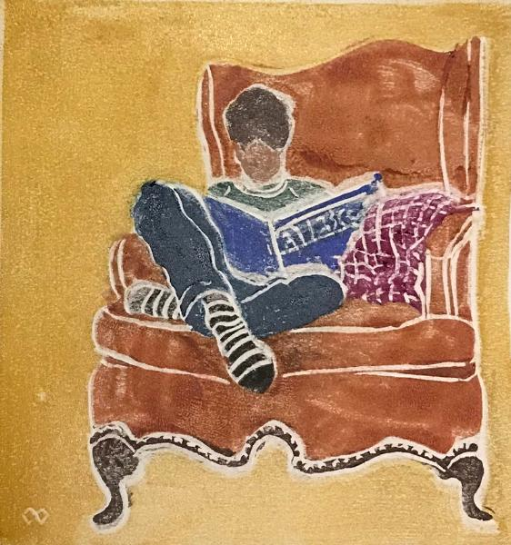 The Reading Chair (unframed $170