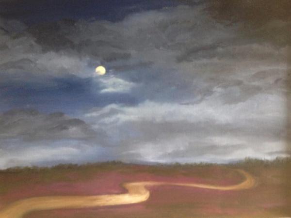 """Ribbon of Moonlight, 18""""x24"""""""
