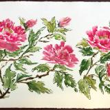 """24""""x36"""" Pink Profusion (Peonies) SOLD"""