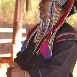 Akha Woman, Musician