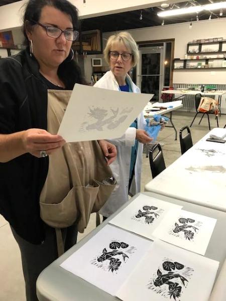 Yadkin Print workshop