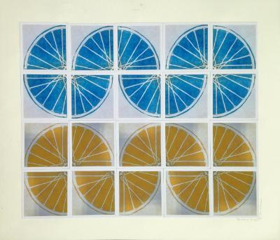 14 Freewheelin' FOURTEEN (yellow/blue 4sqx5sq)
