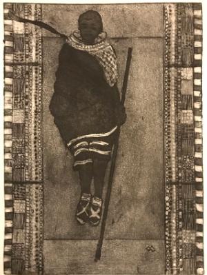 Maasai Jump Dancer