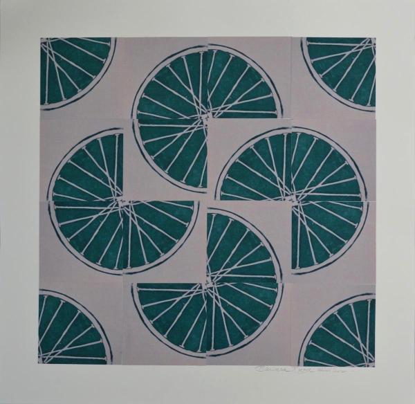 1Freewheelin'  One (Green 4 sq x4 sqs)