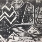 *   City Abstraction: Philadelphia   Woodcut