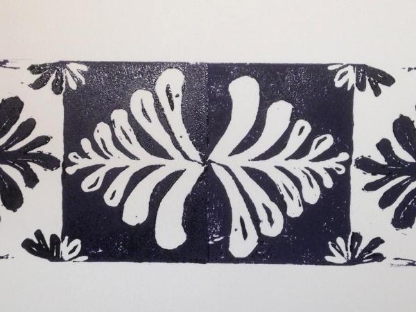*Tree of Life Print 1 lino-cut