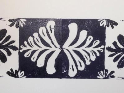 *Tree of Life Print 1 lino-cut
