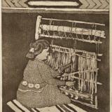 7 Looms a Weaving: Navajo
