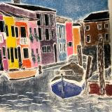 Burano Island, Venice Lagoon