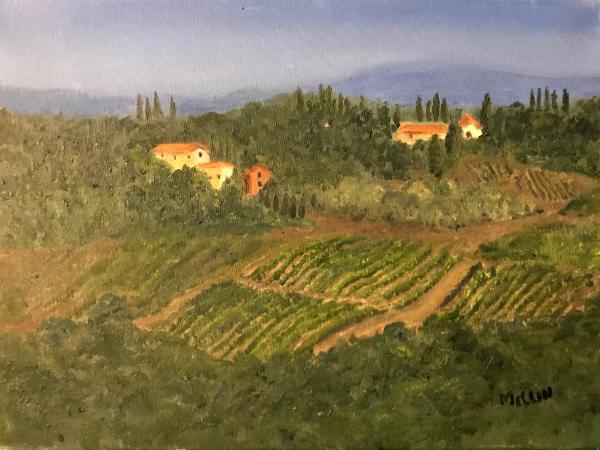 Tuscan Hillside, Montespertoli