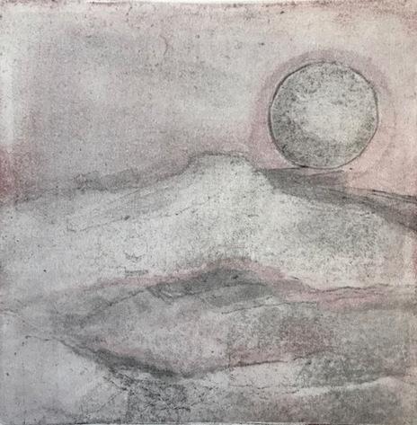 Desert Sun Monotype